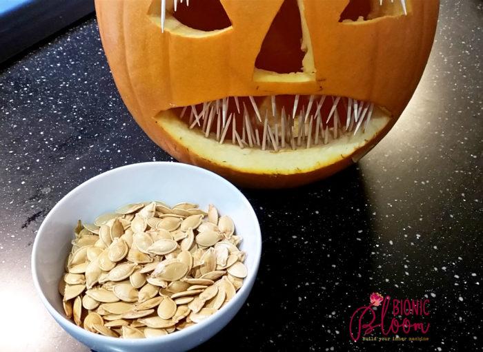 farm fresh pumpkin seeds