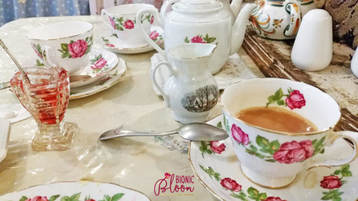 Tea time at Well Walk Tea Room