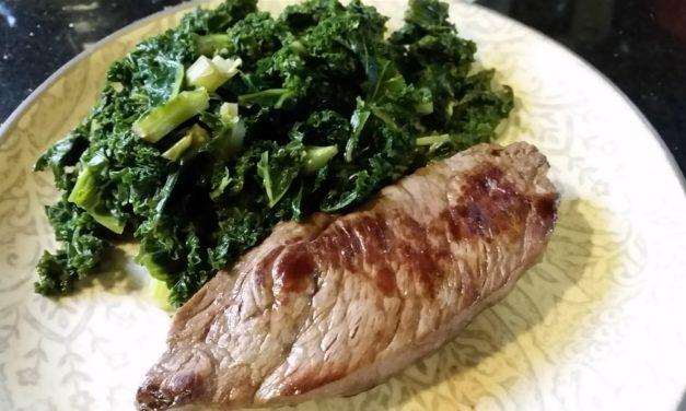 Ribeye Steak Skillet Style