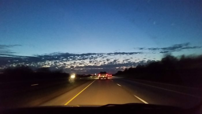 Texas roads, texas sky