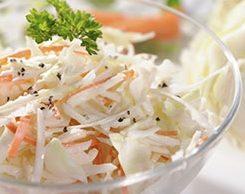 clean greek yogurt coleslaw