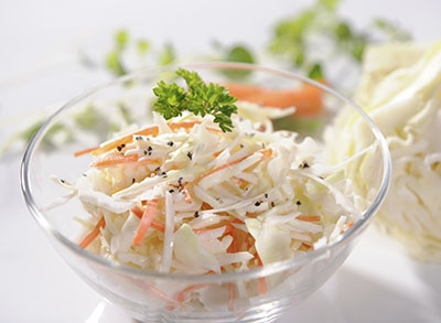 Clean Greek Yogurt Coleslaw