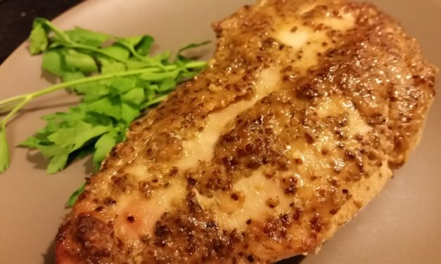 Baked Chicken with Honey Mustard Glaze