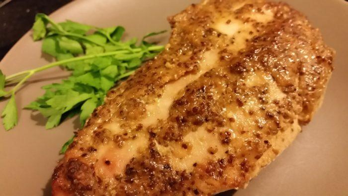 chicken mustard glaze