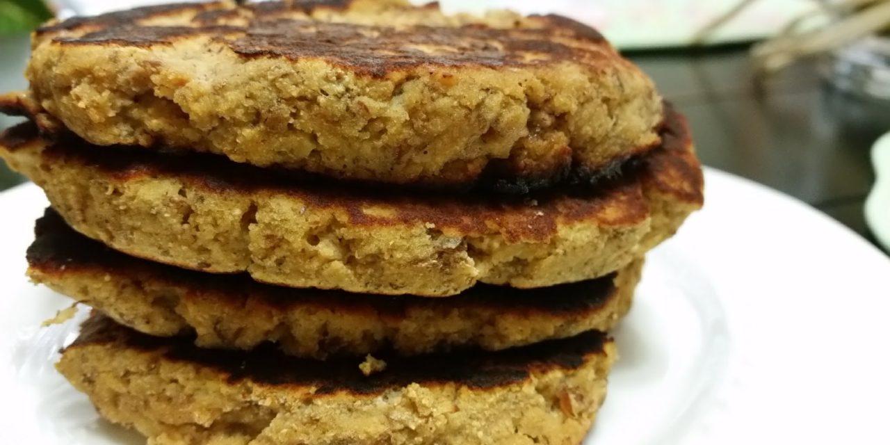 Pumpkin Almond Protein Pancakes